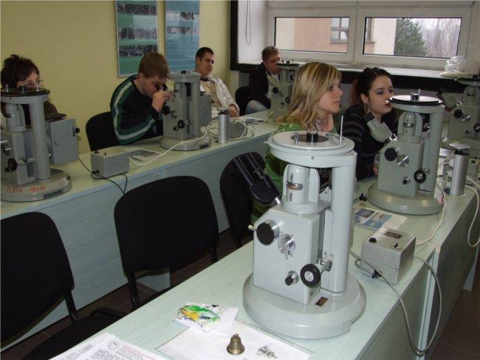 Výučbové laboratórium svetelnej mikroskopie