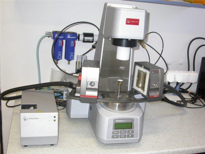 Rheometer MCR 301